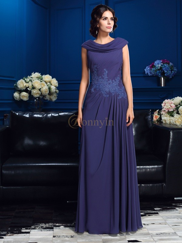 Chiffon A-Line/Princess Floor-Length Mother of the Bride Dresses