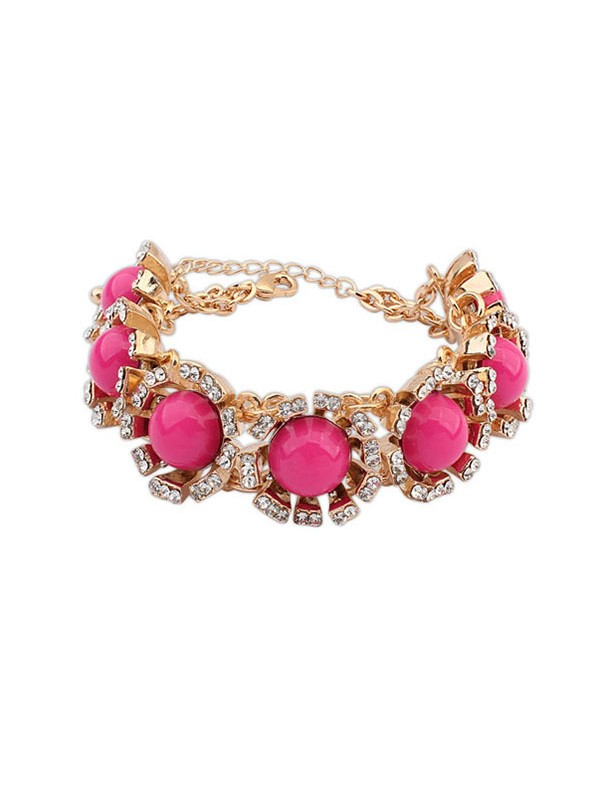 Occident New Street Shooting Collision Color Hot Sale Bracelets