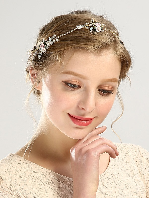 Glamorous Czech Pearl Headpieces