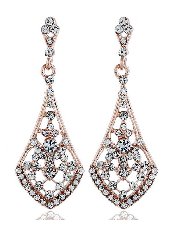Vintage Alloy With Rhinestone Hot Sale Earrings